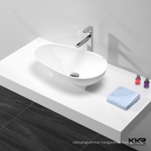 Artificial stone sink toilet oval artificial stone basin