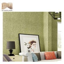 papier peint pvc de paillettes de luxe durable de qualité supérieure pour les chambres