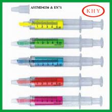 Syringe Shape Highlighter Pen