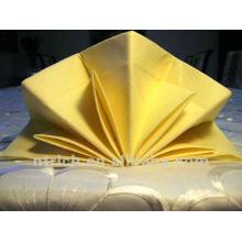 Serviettes de table, serviettes de table 100 % polyester, serviettes de l'hôtel
