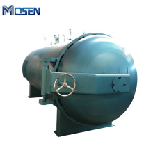 autoclave horizontal industrial for pulley rubber vulcanization