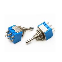 Factory directly for Miniature Toggle Switch MTS-203 dpdt on-off-on toggle switch export to Gambia Factory
