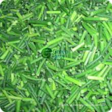 Nova colheita IQF Congelado jovem alho Sprout cortes