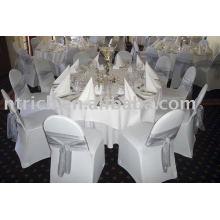 Housses de chaises, housses de chaises Lycra/stretch, housses de chaises de banquet/hôtel