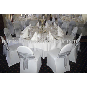 Chair covers, Lycra/stretch chair covers, banquet/hotel chair covers