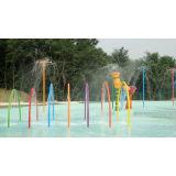 Rainbow Door Aqua Play, Spray Aqua Park Equipment, Fountains Play Structure