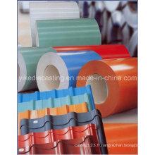 Matériel de construction de tôle d'acier galvanisé par PPGI