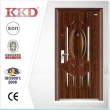 Melhor preço duplo porta portas de aço KKD-522D para a porta de entrada principal