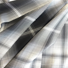 Gradient Rayon Yarn Dyed Plaid Woven Fabric