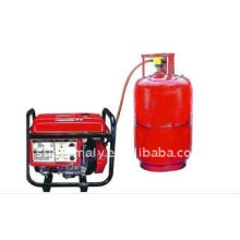 Для бытового использования маленький мощность LPG газ генератор (2-6kva)