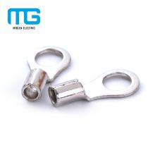 Terminais de anel de Furcate de friso de alta qualidade de cobre não isolados