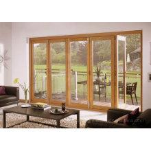 External Timber Bifolding Frame Door