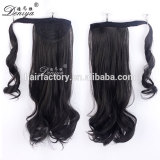 Deniya fashion style cheap wrap around magic ponytail top quality hair extension
