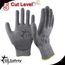 SRSAFETY 13 калибровочная трикотажная нить с покрытием из нитрила с антирежущей рабочей перчаткой