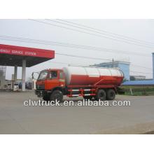 Dongfeng 6*4 vacuum truck 15-16CBM vacuum tanker truck price