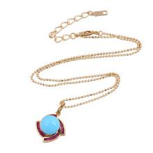 30954 Xuping простой дизайн золотой цвет раковины жемчужный кулон для женщин