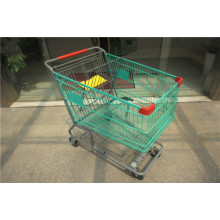 Amerika-Art-Supermarkt-Einkaufswagen-Laufkatze