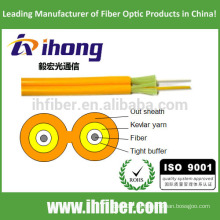 Fibra óptica Duplex Zipcord Cable de interior (GJFJV)