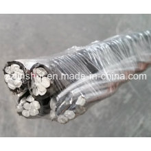 Cable de aluminio suspendido 4 * 1/0 Standardbred