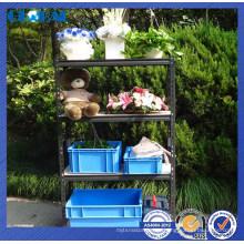 Solución de almacenamiento Boltless de alta calidad de estantería de remaches para almacenamiento en el hogar