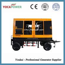 Generador Diesel eléctrico insonorizado refrigerado por agua Generación móvil de energía