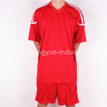 football jersey with polyester material of dry fit and breathable function