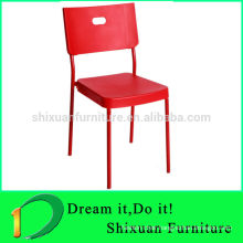 2014 popular stackable plastic dinning chair PC-009