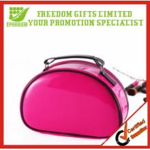Sacs cosmétiques promotionnels adaptés aux besoins du client de forme de coquille avec LOGO