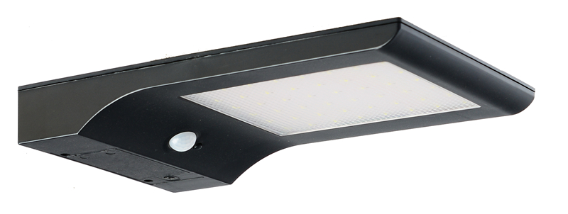 Solar Powered Led Wall Mount Dectection Porch Light
