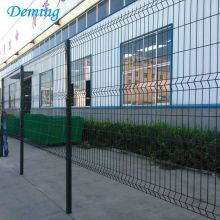 4.0mm 3D Triangle Bending Wire Mesh Pagar