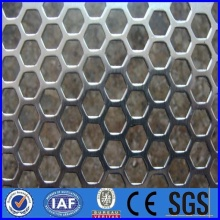 Stainlesssteel Square Round Holes Perforated Metal Mesh