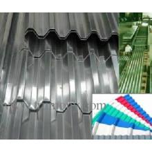 Feuille d'aluminium ondulé pour l'architecture et la toiture et l'ingénierie