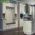 Modern cheap simple style wood kitchen cabinet