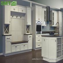 Armoire de cuisine moderne en bois de style simple