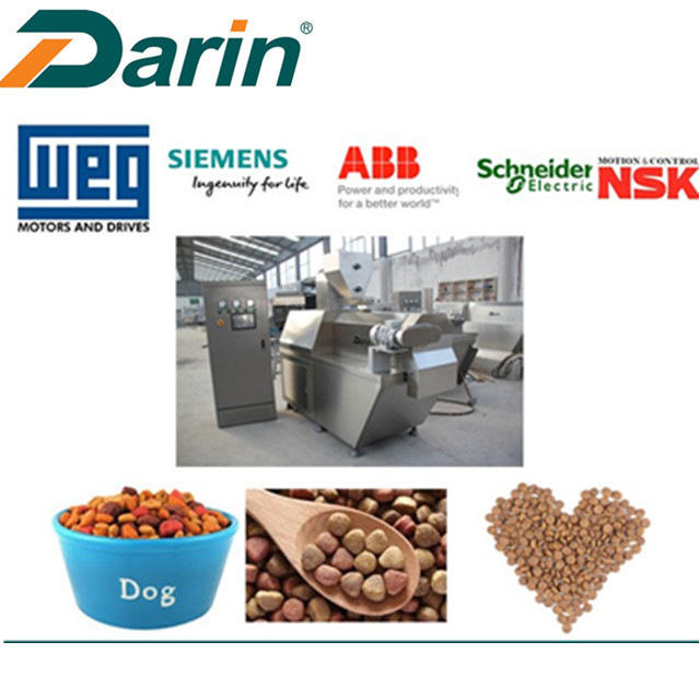 Pet+Dog+Food+Extruding+Line+with+CE+Certification