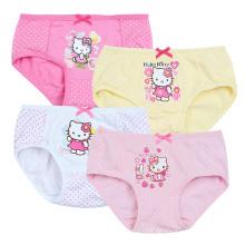 Reizende Karikatur-Mädchen-Unterwäsche-Schriftsatz-Kind-Unterwäsche für Mädchen-Kind-Unterwäsche-Kinder tragen