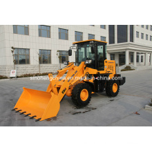 70HP 0.55m3 1.5 Ton Small Loader, Mini Wheel Loader