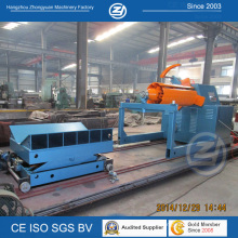 Hydraulic Uncoiler with Coil Car