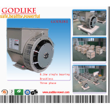 8.1kVA Alternateur AC de petite puissance produit par Godlike avec une grande attention sur la qualité