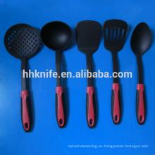 Juego de utensilios de cocina de nylon de 5 piezas