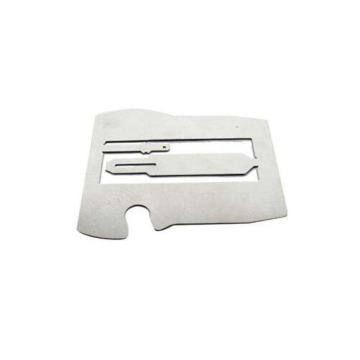 Pièces embouties personnalisées en métal étamé