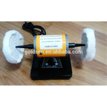 Power Hobby Mini Bench Polisher Buffer Machine Portable Electric Jewelry Making Tools