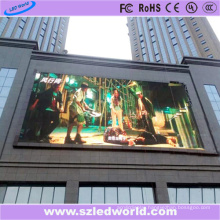 P6 Outdoor 6000CD/M2 LED Sign Board Display on The Wall