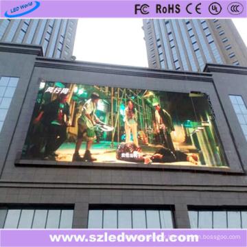 Affichage extérieur de panneau de signe de 6000CD / M2 LED de P6 sur le mur
