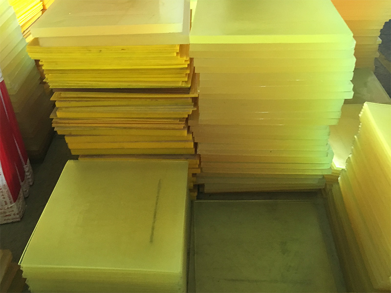 Polyurethane Rubber Sheets