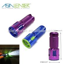 Mini-lanterna super brilhante do diodo emissor de luz