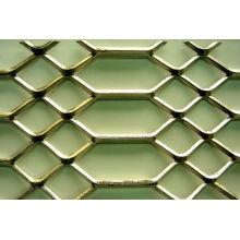 Malha de metal expandida para decoração