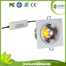Downlight carré d'ÉPI LED d'Ewin Dimmable 20W avec du CE SAA