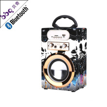new gadgets 2018 usb motorcycle mp3, wood retro radio, dj sound box, Karaoke system bluetoth speaker