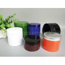 Frascos cosméticos plásticos do animal de estimação em cores contínuas (PPC-81)